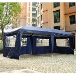 Carpa Pabellon Azul Acero Oxford 6x3m...