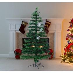 Arbol de Navidad Verde Φ60x150cm + Luces LED Arbol ...