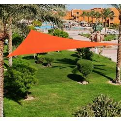 Toldo Vela Triangulo tipo Sombrilla o Parasol para ...