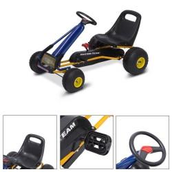 Kart a Pedales para Niños de 3 a 8 años - Acero y Pl...