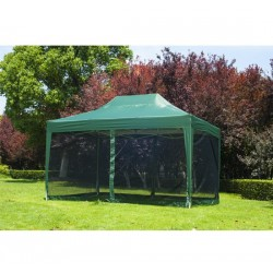 Carpa con Mosquitera Plegable en Acordeón - Color V...