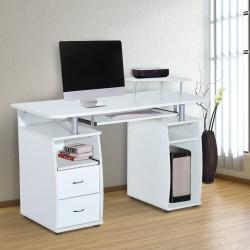 Mesa de Ordenador Escritorio para Oficina - Color B...