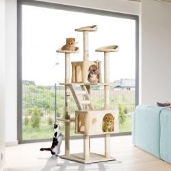 Rascador para Gatos tipo Centro de Actividad con Árb...