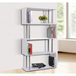 Librería Muebles para Oficina Estantería - Color Bla...