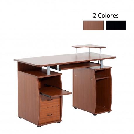 Mesa de Ordenador Color de Madera MDF 120x55x85cm...
