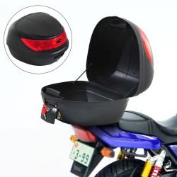 Baul de Moto tipo Cofre Negro Plastico 40x38x30cm...