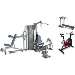 M quinas estaciones gimnasio multifunci n depor trainer - Maquinas para gimnasio en casa ...