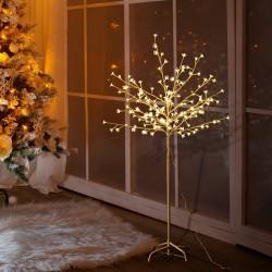 Arbol de Navidad Hierro Blanco 50x50x120cm...