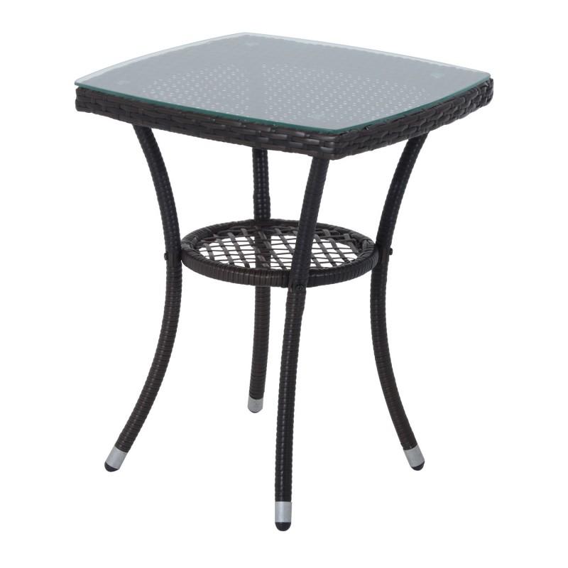 Conjunto de 1 mesa y 2 sillas para terraza y jard n for Sillas de terraza y jardin