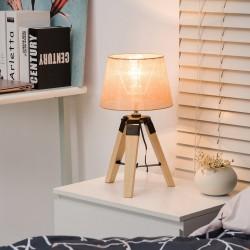 Lámpara de Mesa Moderna y Original con Base Trípode...
