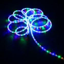 HomCom Cadena Luces LED de Alambre Impermeable Decoración para Navidad Luz Multicolor 10M