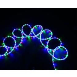 HomCom Cadena Luces LED de Alambre Impermeable Decoración para Navidad Luz Multicolor 20M