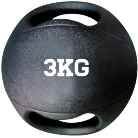 BALÓN MEDICINAL CAUCHO CON AGARRES - 3 KG / 4 KG