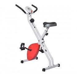 Bicicleta Estática de 8 niveles con Pantalla Digital para Fitness y Spinning - Carga máxima 110kg - 41x66x104cm