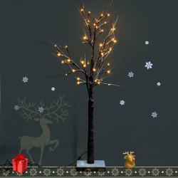 Arbol de Navidad Decoracion con Cuerda 32 Luces LED ...
