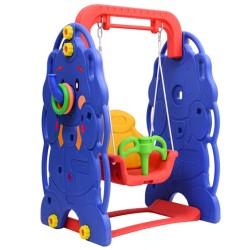 Columpio Infantil 90x120x66cm Niños 18 meses Carga Max 50Kg Parque