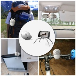 Mini Altavoces de Sonido Caja Bluetooth Con Microfono Multifuncional
