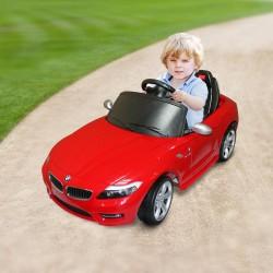 HomCom Coche Eléctrico Infantil Rojo PP ABS TPE 110 x 56.6 x 47,1cm / 10,7kg