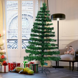 Arbol de Navidad Verde Φ60x150cm + Luces LED...