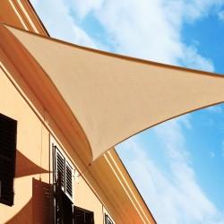 Toldo Vela Triángulo tipo Sombrilla Parasol para Ter...