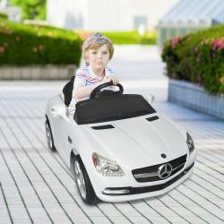Coche Eléctrico Infantil de Batería Mercedes con Con...