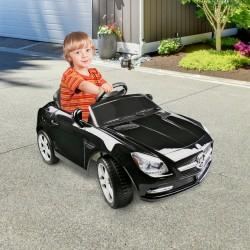 Coche Eléctrico Mercedes Infantil Batería 6V con Co...