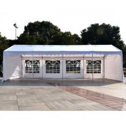 Carpa Blanca de 8x4 m para Celebraciones y Eventos -...