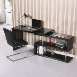 Mesa de Oficina para Ordenador PC - Color Negro - M...