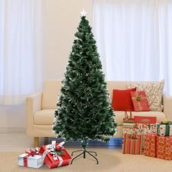 Arbol de Navidad Verde Φ84x180cm + Luces LED Arbol ...