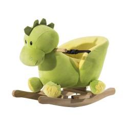 Caballo Balancín Dinosaurio de Peluche para Niños +...