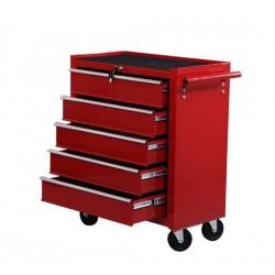 Carro de Herramientas Rojo Chapa de Acero 67.5 x 33...