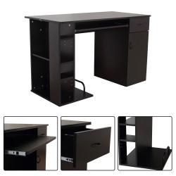 Mesa de Ordenador PC 120x60x74 cm Oficina Despacho E...