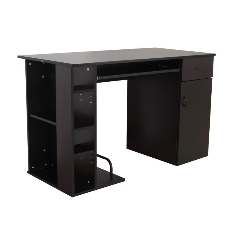 Mesa de ordenador pc 120x60x74 cm oficina despacho e for Ordenador oficina
