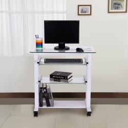 Mesa de Ordenador PC Oficina Despacho Escritorio con...