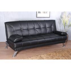 Sofa Cama Silla 188x105x85cm Plegable 2 en 1 Cuero ...