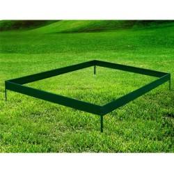Cimentacion de Invernadero Verde Acero 248x248cm...