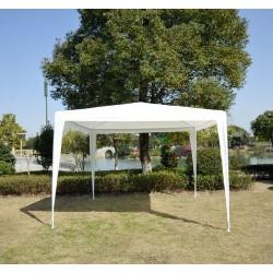 Carpa Desmontable 3x3 m Blanca Impermeable de Jardín...