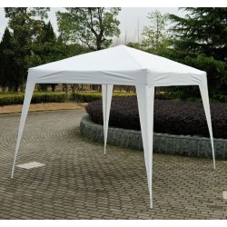 Carpa Impermeable Blanco Acero Oxford 3x3m...