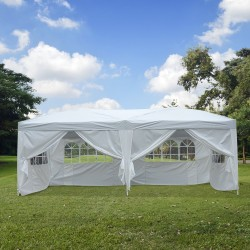 Gazebo Pabellón para Jardín Camping Fiesta Tienda E...