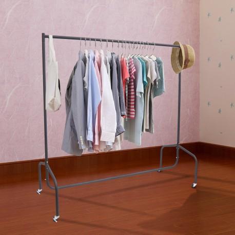 Perchero colgador ropa 120x60x150 cm tubo de hierro - Colgador de camisas ...