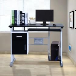 Mesa de Ordenador PC Despacho Escritorio 100x52x75cm...
