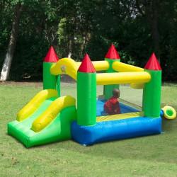 Castillo Hinchable para Niños - Tela de Nylon 420D ...