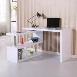 Mesa de Escritorio con Estantería para Oficina - Col...