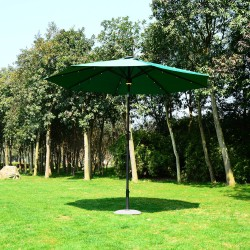 Sombrilla reclinable tipo Parasol con Luz LED y Alta...