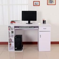 Mesa de Ordenador tipo Escritorio para PC - Color Bl...