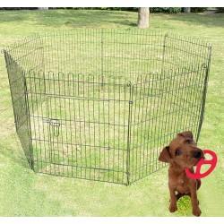 Parque Perros Jaula Plegable Mascotas Cerca Entrenam...