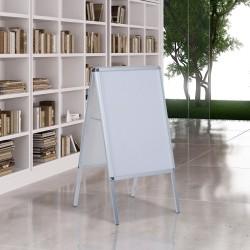Panel Publicitario de Doble Cara - Color Blanco - A...