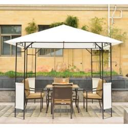 Carpa Cenador para Jardín o Terraza - Color Crema - ...