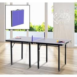 Mesa de Ping Pong Plegable Infantil - Color Azul - ...