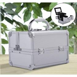 Maletin Profesional Aluminio Blanco 15x15x20cm...